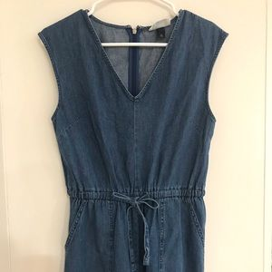 Universal Thread Denim jumpsuit Target